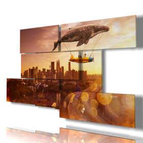 quadri moderni - Ninfea 02 - centro