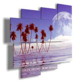 quadro di foto fantasia di mare