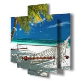 quadri moderni - Hawaii - centro