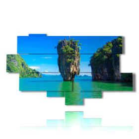 Modern paintings sea view-Thailand in Phuket