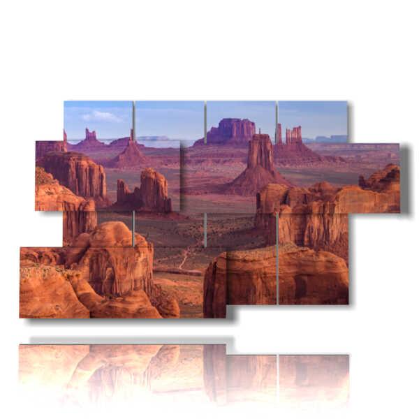 Malerei einer Landschaft in Arizona