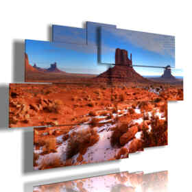 quadro con paesaggio Monument Valley Arizona