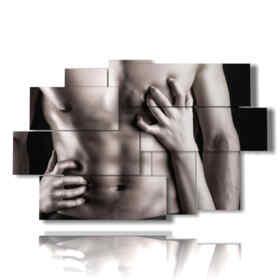 tableaux à l'homme nu