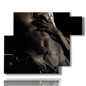 Modern paintings of male nudes