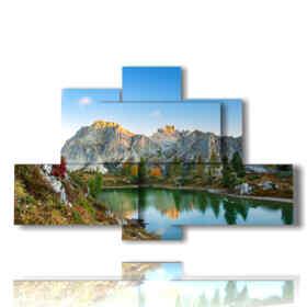 dolomites tableaux - Monte Lagazuoi