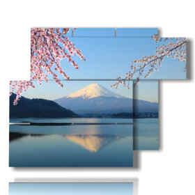 tableaux montagne photos Mont Fuji