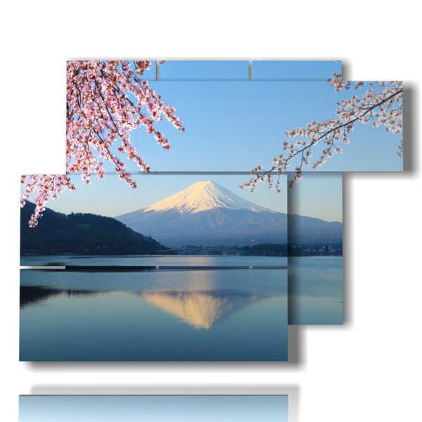 cuadros montaña imágenes monte Fuji