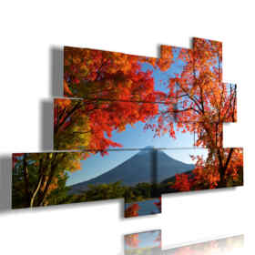 famous Mount Fuji mountain paintings