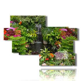 quadri floreali moderni mille colori