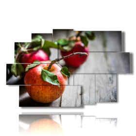 tableaux de pommes de fruits