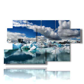 Bilder Winter mit Eis