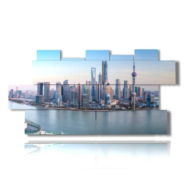 photo avec des photos de Shanghai en Chine
