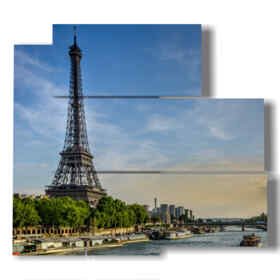quadro Parigi - Senna