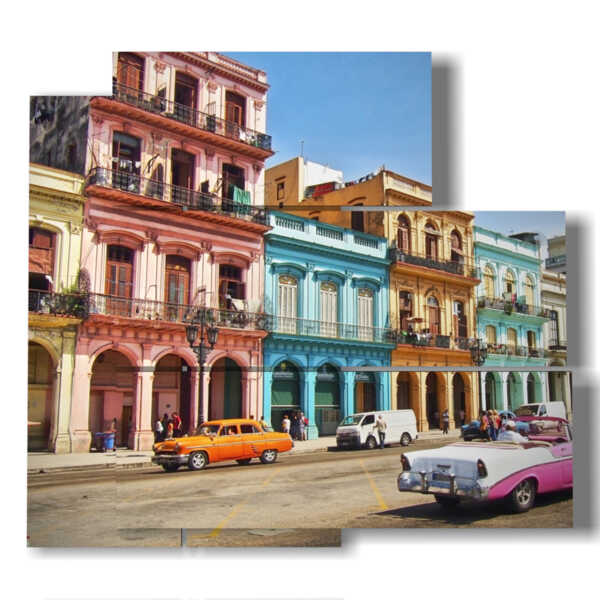 paintings cuba for a walk in the city