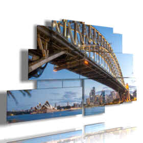 foto Sydney Tower quadro del Harbour Bridge