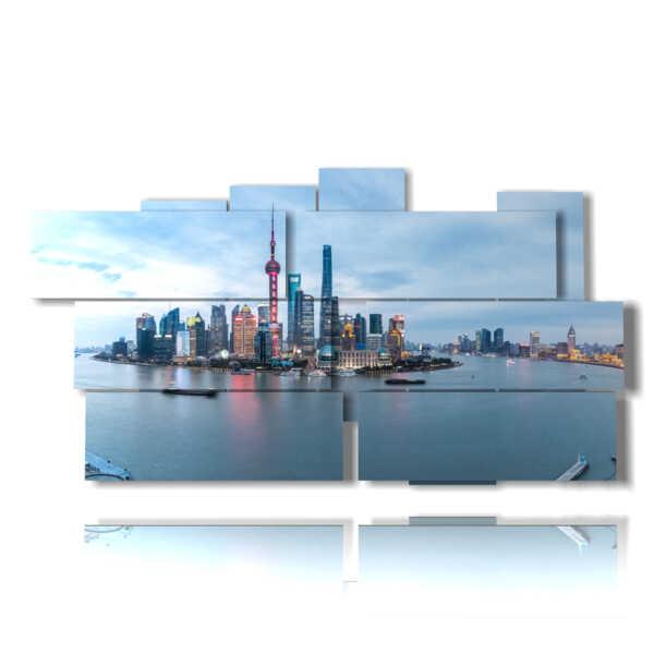 quadro moderno Astratto 131 multilivello 3d