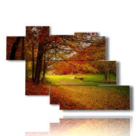 imágenes de paisajes de otoño Millecolori