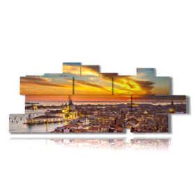 quadro Venezia panoramica