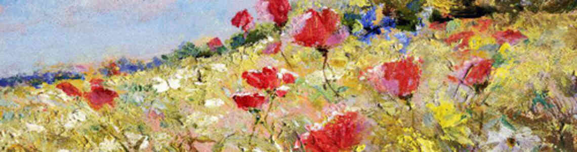 cuadros modernos con otras flores