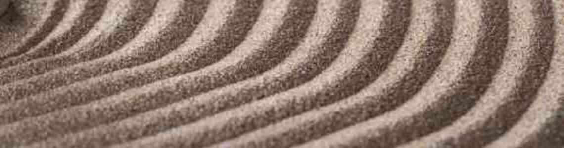 tableaux modernes de sable