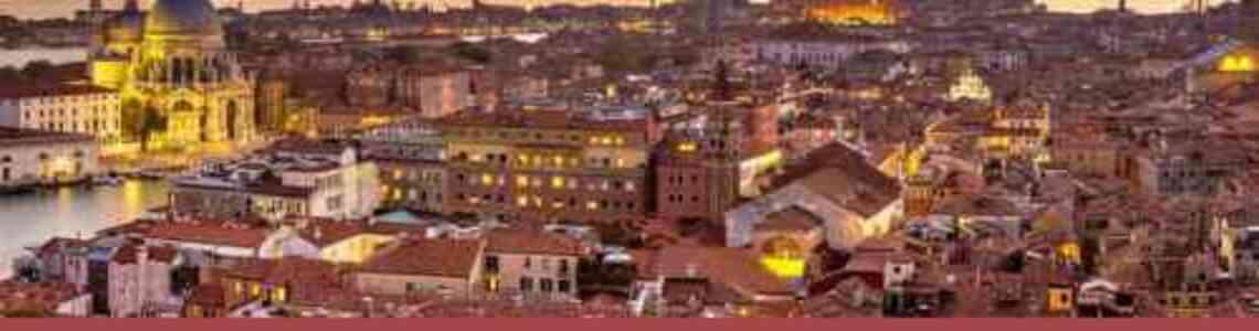 cuadros modernos ciudades italianas modernas