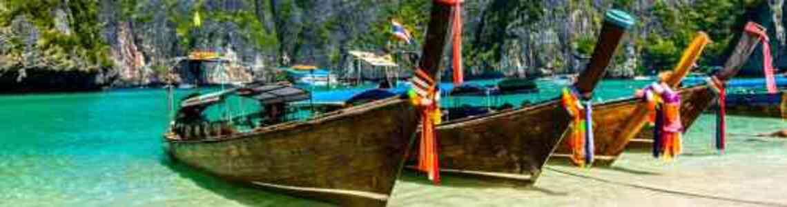 tableaux modernes avec des bateaux